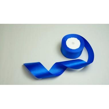 Лента атласная, 50мм*23м (цвет синий)