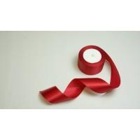 Лента атласная, 50мм*23м (цвет бордовый)