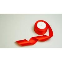 Лента атласная, 50мм*23м (цвет красный)