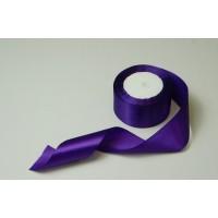 Лента атласная, 50мм*23м (цвет фиолетовый)