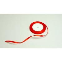 Лента атласная, 6мм*23м (цвет красный)
