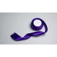 Лента атласная, 40мм*23м (цвет фиолетовый)