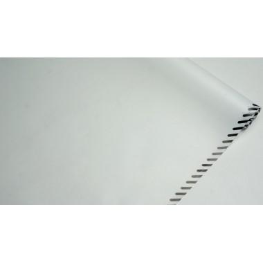 Пленка матовая корейская с кантом 58см*10м (цвет белый)