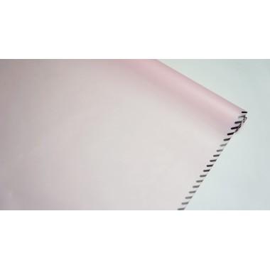 Пленка матовая корейская с кантом 58см*10м (цвет розовый)