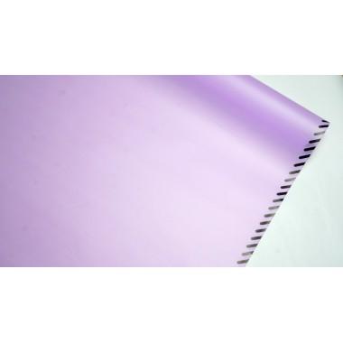 Пленка матовая корейская с кантом 58см*10м (цвет сиреневый)