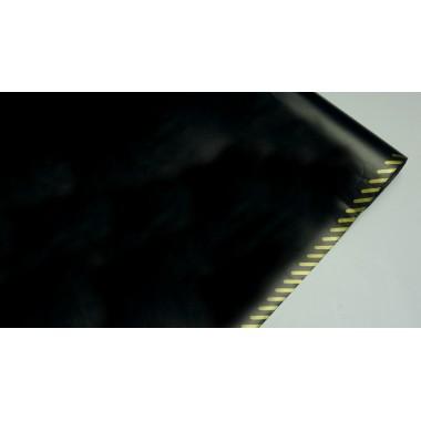 Пленка матовая корейская с кантом 58см*10м (цвет черный)