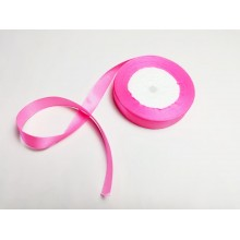 Лента атласная, 16мм*23м (цвет ярко-розовый)