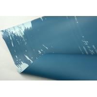 """Пленка матовая DUOMAT """"акварель"""", (цвет бирюзовый) 58см*10м, 65мкм"""