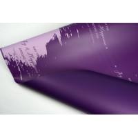 """Пленка матовая DUOMAT """"акварель"""", (цвет фиолетовый) 58см*10м, 65мкм"""