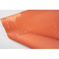 """Пленка матовая DUOMAT """"акварель"""", (цвет коралловый) 58см*10м, 65мкм"""