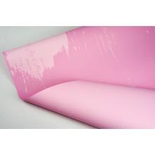 """Пленка матовая DUOMAT """"акварель"""", ( цвет розовый) 58см*10м, 65мкм"""