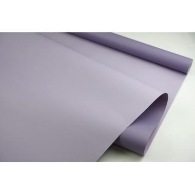 Пленка матовая DUOMAT,58см*10м,60 мкм ( цвет серо-фиолетовый/бледно-сиреневый)
