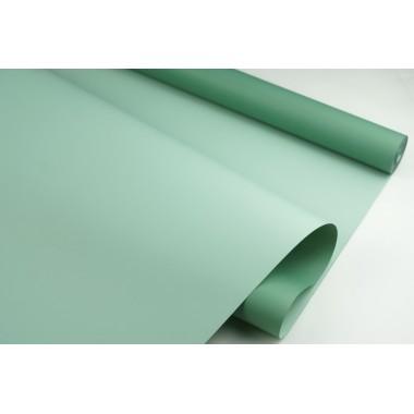 Пленка матовая DUOMAT, (цвет зеленый/светло-зеленый) 58см*10м, 65мкм