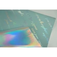 "Пленка матовая DUOMAT ""неон"",58см*10м,70 мкм ( цвет серо-голубой)"