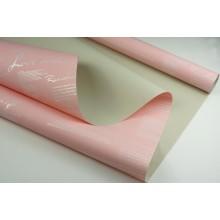 """Пленка матовая DUOMAT """"поэзия"""",58см*10м,60 мкм ( цвет персиковый/молочный чай)"""