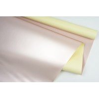 """Пленка матовая DUOMAT """"розовое золото"""", (цвет молочный), 58см*10м, 65мкм"""