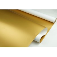 "Пленка матовая DUOMAT ""золотая сторона"", (цвет белый) 58см*10м, 65мкм"