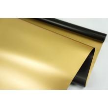 """Пленка матовая DUOMAT """"золотая сторона"""",58см*10м,70 мкм ( цвет черный)"""