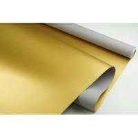"""Пленка матовая DUOMAT """"золотая сторона"""", (цвет серый) 58см*10м, 65мкм"""