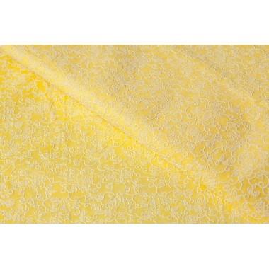 Фетр цветы 60см*60см, 20шт. в уп. (цвет желтый)