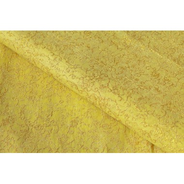 """Фетр цветы """"золото"""" 60см*60см, 20шт. в уп. (цвет желтый)"""