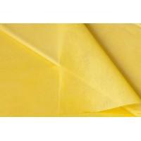 Фетр однотонный 50см*50см, 41шт. в уп. (цвет желтый)
