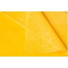 Фетр однотонный 50см*50см, 41шт. в уп. (цвет ярко-желтый)