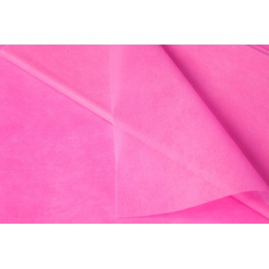 Фетр однотонный 50см*50см, 41шт. в уп. (цвет розовый)