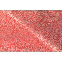 """Фетр цветы """"серебро"""" 60см*60см, 20шт. в уп. (цвет красный)"""