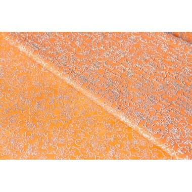 """Фетр цветы """"серебро"""" 60см*60см, 20шт. в уп. (цвет оранжевый)"""