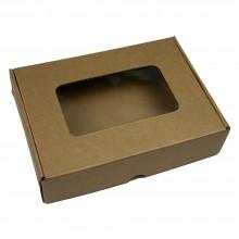 Коробка для подарков (с окном) 20см*15см*5см