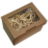 Коробка для подарков (с окном) 28см*18см*12см