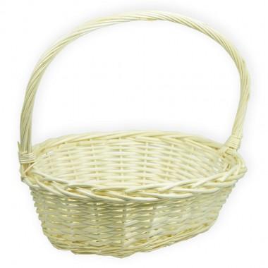 Корзина плетеная (ива) лукошко, 38*30*13см, цвет натуральный