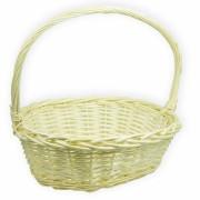Корзина плетеная (ива) лукошко, 45*35*15см, цвет натуральный