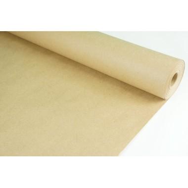 Крафт бумага коричневая (без рис.), 70г/м2, 73см*20м