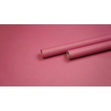 Крафт бумага с однотонной заливкой (малина) 0,7м*9м