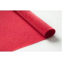 Бумага крепированная 50см*2,5м (цвет красный)
