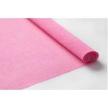 Бумага крепированная 50см*2,5м (цвет розовый)