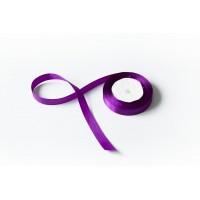 Лента атласная, 16мм*23м (цвет фиолетовый)