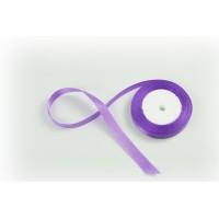Лента атласная, 16мм*23м (цвет светло-фиолетовый)