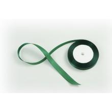 Лента атласная, 16мм*23м (цвет темно-зеленый)