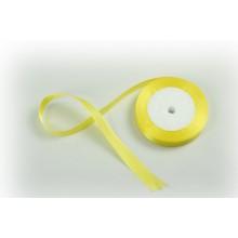 Лента атласная, 16мм*23м (цвет желтый)