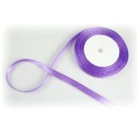 Лента атласная, 10мм*23м (цвет светло-фиолетовый)