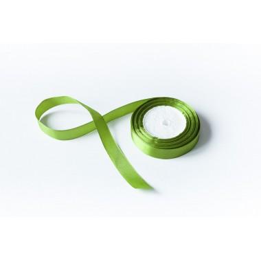 Лента атласная, 20мм*23м (цвет трава)