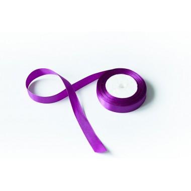 Лента атласная, 20мм*23м (цвет фиолетовый)