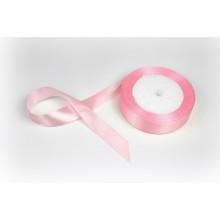 Лента атласная, 20мм*23м (цвет нежно-розовый)