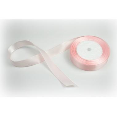 Лента атласная, 20мм*23м (цвет розово-персиковый)