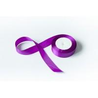 Лента атласная, 26мм*23м (цвет фиолетовый)