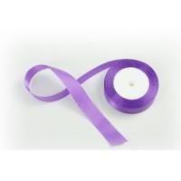 Лента атласная, 26мм*23м (цвет светло-фиолетовый)
