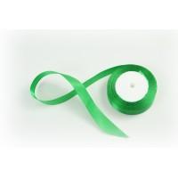 Лента атласная, 26мм*23м (цвет зеленый)